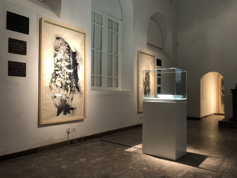 Nirbhaya, Dafne II (for Nirbhaya), 2020, technika mieszana, rysunek na papierze ryżowym, fot. W.Elertowska