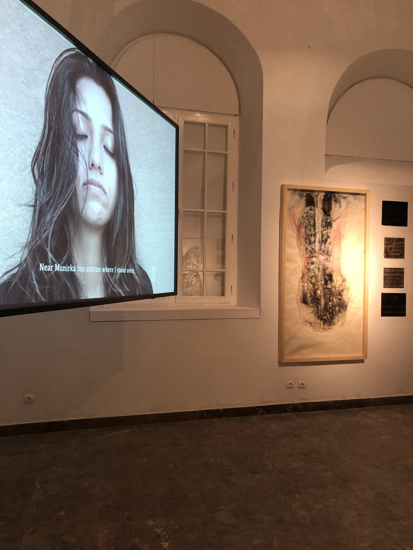 Nirbhaya, Two Laments (19 Cantos), 2015-2020, projekcja wideo, fot. W.Elertowska