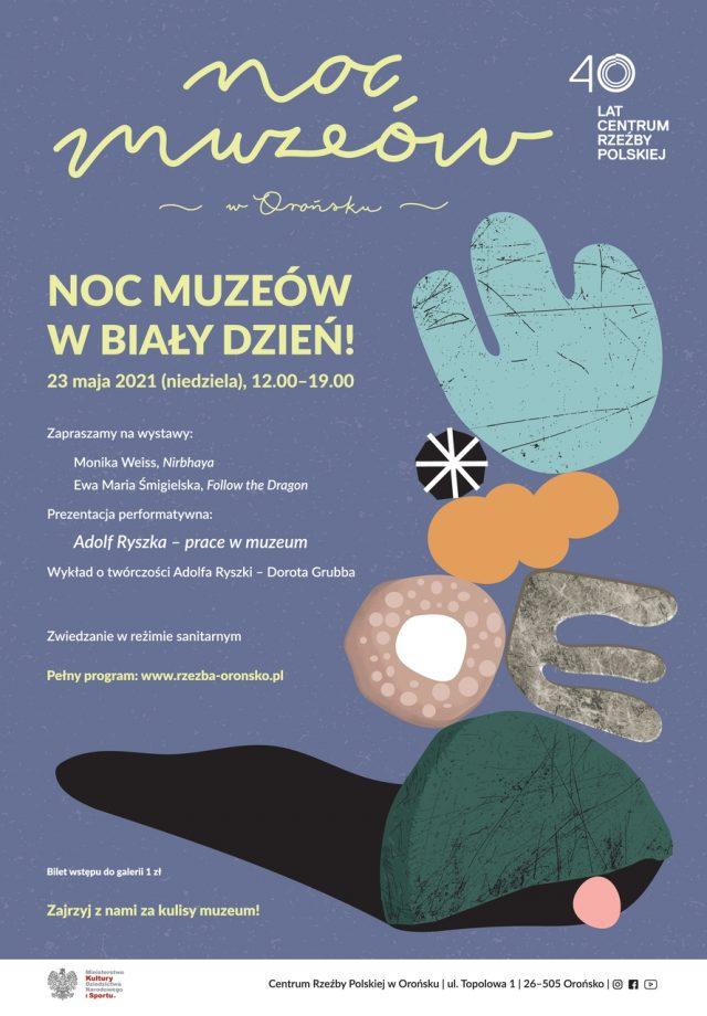 Plakat Noc muzeów
