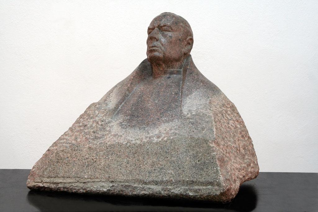 Popiersie kardynała Stefana Wyszyńskiego