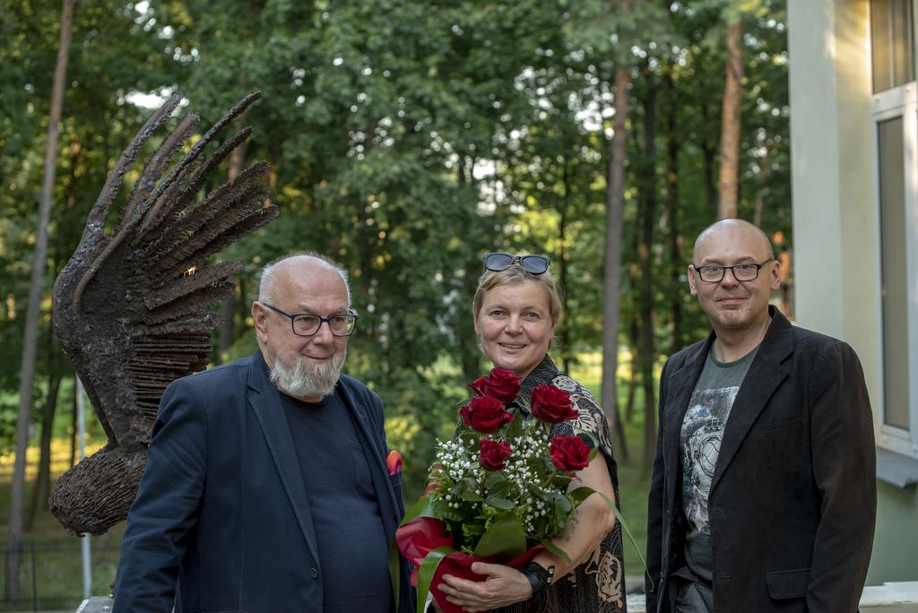 Zbigniew Belowski, Mariola Wawrzusiak -Borcz, Rafał Małecki, 30.07.2021, Pionki, foto Rafał Borcz