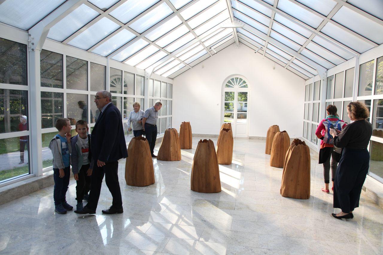 Ekspozycja w galerii Oranżeria