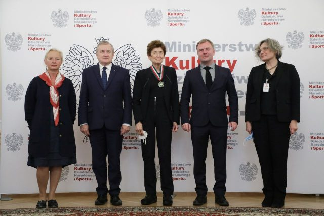 Ursula von Rydingsvard uhonorowana Złotym Medalem Gloria Artis, fot. Danuta Matloch