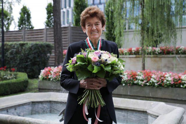 Ursula von Rydingsvard uhonorowana Złotym Medalem Gloria Artis, fot. Danuta Matloch 6