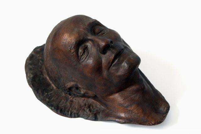 Maska pośmiertna Wincentego Kraśki