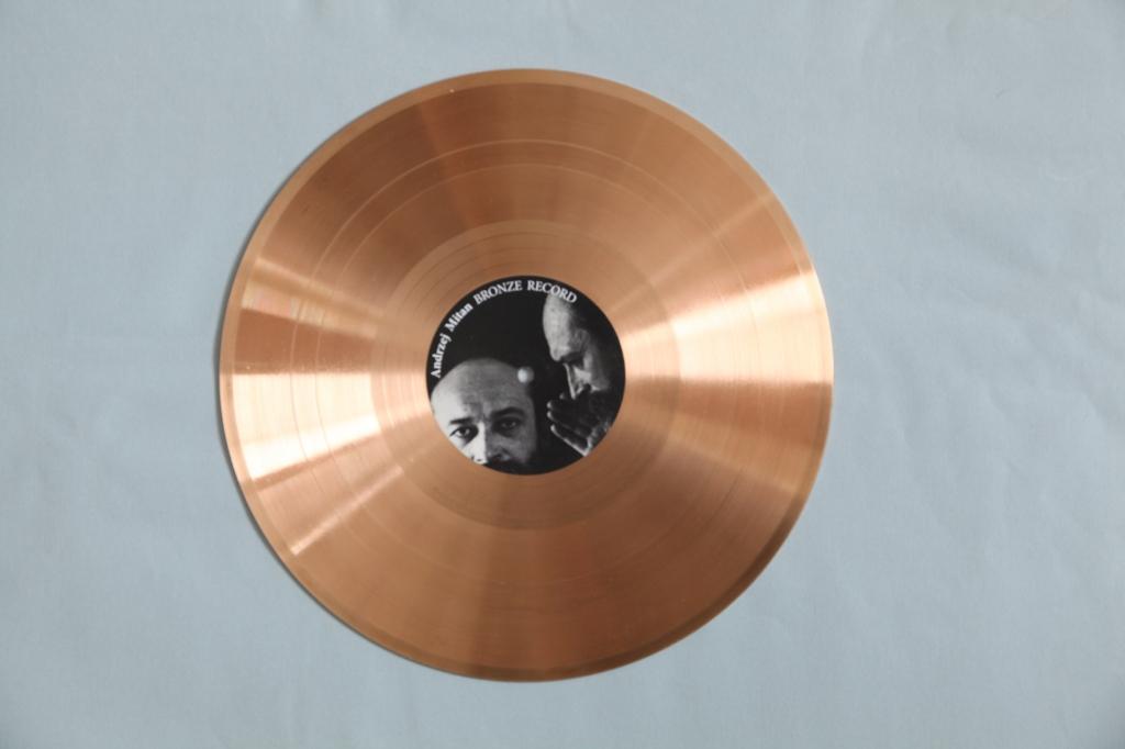 Bronze Record z cyklu Płyty bezdźwięczne