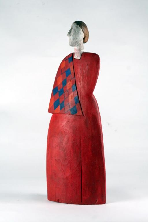 Figura w czerwieni