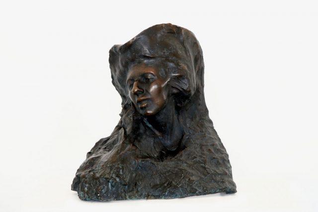 Portret żony Bronisławy Ostrowskiej